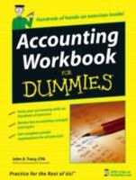 Accounting Workbook For Dummies by Tracy, John A., Good Book