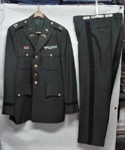 U.S. Army Officer Green Dress Uniform W/Insignia