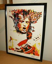 Angus Young, AC/DC, Guitar Player, Hard Rock, Blues Rock, 18x24 POSTER w/COA 2