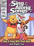 Disney's Sing Along Songs-With pooh bear and piglet(DVD)DISC & COVER ART NO CASE