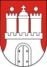 Wappen Aufkleber Hamburg Autoaufkleber Auto Motorrad Styling & Tuning  Sticker