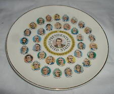PRESIDENTS OF THE UNITED STATES PLATE NIXON