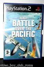 WWII BATTLE OVER THE PACIFIC USATO BUONO STATO ED UK GIOCO IN INGLESE FR1 31220