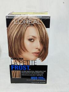 L'Oreal La Petite Frost Cap Hair Highlights For Shorter Hair H55 Creme Caramel