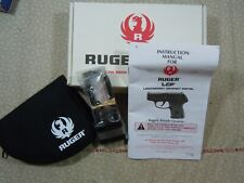 Ruger Lcp Factory Cardboard Box With Manual + Rug + Lock + More - 97460. L@K!