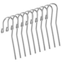 10Pcs Dental Stainless steel Lip Hook Apex Locator SH Canal Dental Finder U9V1