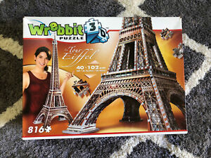 Wrebbit Eiffel Tower 3D Puzzle 816 Piece