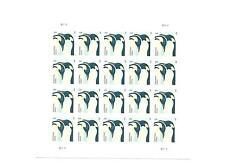 USA MNH STAMP SHEET OR PANE OF 20 PENQUINS 22CENT EA. SC#3154