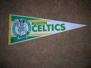 Boston Celtics 1990 full size pennant