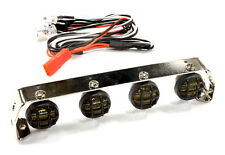Integy 1/10 Crawler Realistic 107mm 4 Fog LED Roof Top Spot Light Bar #C25512