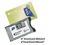 Tivusat Tivù Sat Smartcard inkl.CAM Modul 4K  RAI HD Mediaset Karte Aktiviert