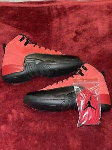Nike Air Jordan 12 Reverse Flu Game 'Varsity Red' Size 6Y