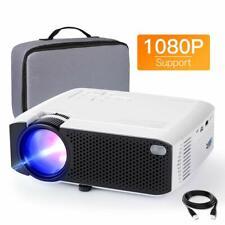 Projector APEMAN Mini Videoprojector Portable 4500 Lumens Built-in Dual Speakers