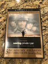 Saving Private Ryan Widescreen (Dvd, 1999, Special Limited Edition) Tom Hanks