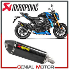 Exhaust Carbon Approved Muffler Akrapovic for Suzuki GSX-S 750 2017 > 2019