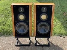 VINTAGE Infinity Kappa 6 STEREO Speakers AUDIOPHILE Arnie Nudell NEW FOAM!
