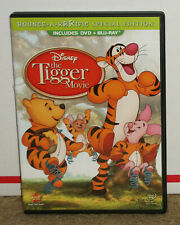 Winnie the Pooh The Tigger Movie DVD + Blu-ray