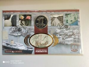 2000 Water & Coast - signed Tracy Edwards - Maritime Heritage pmk + Crown