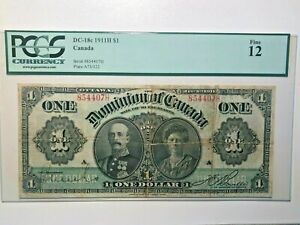 Canada, 1911, $1, DC-18c, F12 Banknote