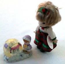 Precious Moments 775355 Christmas Igloo & Little Christmas Carol Doll from 2000