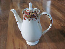Arklow Alton - Coffee Pot 5 Cup - Rust Swags - Gold Trim - Ireland