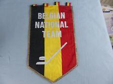FANION PENNANT ICE HOCKEY GLACE BELGIAN NATIONAL TEAM WIMPEL BANDERIN
