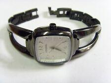 vintage estate F2 Fossil Ladies Bracelet wrist watch Gunmetal tone Look fv1667