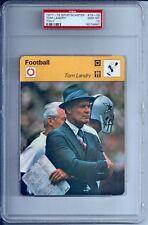 1977-79 Sportscaster Football #78-09 Tom Landry Dallas Cowboys PSA 10