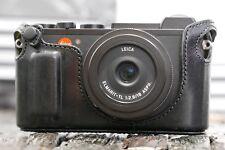 Artisan & Artist Protecteur half case Leica central-x Convient également pour Leica CL Noir