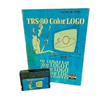 TRS-80 Color Logo cartridge game w/ User Manual for Tandy/Radio Shack TRS-80