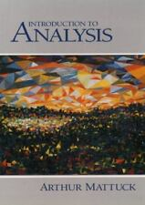 Introduction to Analysis. Mattuck