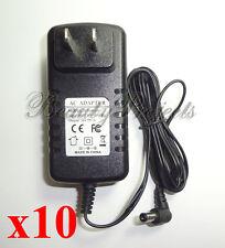 10pc CND LED Light AC Adapters Gel Lamp Dryer 100-240V 50~60Hz Power Supply