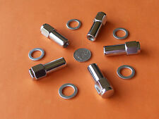 CHROME MAG WHEEL NUTS Pk of 5 SUIT HOLDEN FX - EJ EH - HR to HQ WB TORANA LC UC