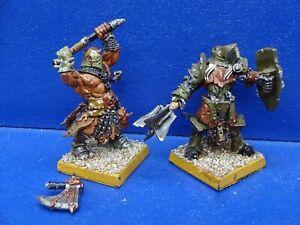 2 Nurgle Champions des Chaos METALL  - Avatars of War