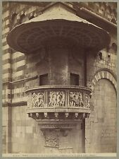 Prato Italie Italia Photo Alinari Vintage albumine c 1880