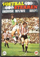 100% COMPLETE NETHERLANDS VANDERHOUT VOETBAL STERREN 1971-72 STICKER ALBUM