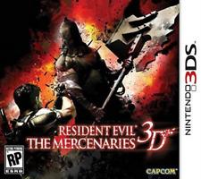 3DS-Resident Evil: The Mercenaries 3D (OZ) /3DS GAME NEW