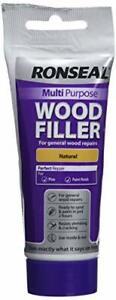 Ronseal Natural Wood Filler Tube RSLMPWFN100G 100g Multi-Purpose