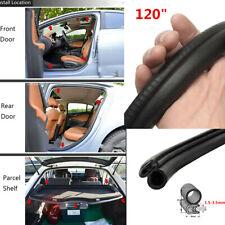 "120"" Lock Rubber Seal Strip For Car Door/Boot/Bonnet/Edge Interior Exterior Trim"