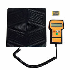 Portable Digital Refrigerant Scale Weight Capacity 100kg, HVAC Tools, 9VDC Incl.