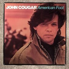 JOHN COUGAR American Fool Coaster Record Cover Ceramic Tile