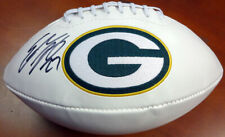 EDDIE LACY AUTOGRAPHED SIGNED WHITE LOGO FOOTBALL PACKERS PSA/DNA 94309