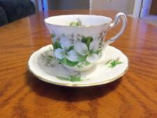Royal Adderley Fine Bone China Cup & Saucer Canadian Provincial Flowers Trillium