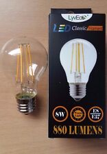 8w LED GLS Filament Light Bulbs Lamp ES Screw In E27 70w Great Value!
