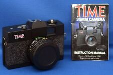 TIME Vintage Portable Compact Souvenir Film Camera f/6 50mm with case