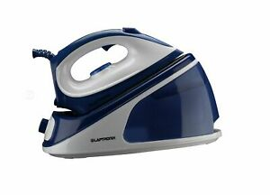 Laptronix Steam Generator Iron 2000W -Easy Ceramic Soleplate Blue – White