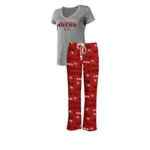 Officially Licensed NFL Women's Fairway Pajama Set by Concepts Sports 671013-J