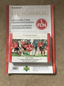 1 FC NURNBERG Brand New Box Set UPPER DECK TRADING CARDS 1997