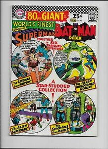 DC  WORLD'S FINEST 161  Oct. 1966 - 80 Page Giant Superman Batman