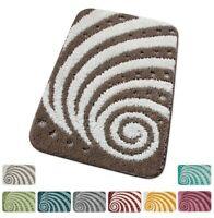 Tappeto bagno antiscivolo TESSITURA 3D spirale multiuso scendiletto mod.TROPEA